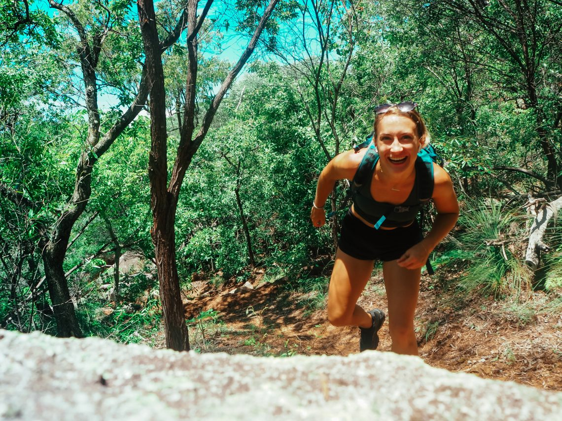 Photograph of hiking in Magnetic Island